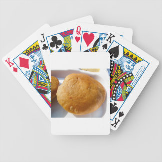 Indian snack food, oily bicycle card deck