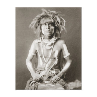 Indian Snake Priest, 1910 Canvas Print