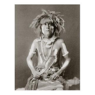 Indian Snake Priest, 1910 Postcard