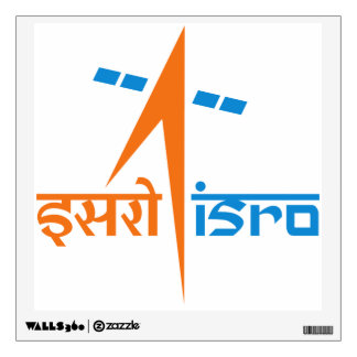 Indian Space Research Organization – ISRO Wall Sticker