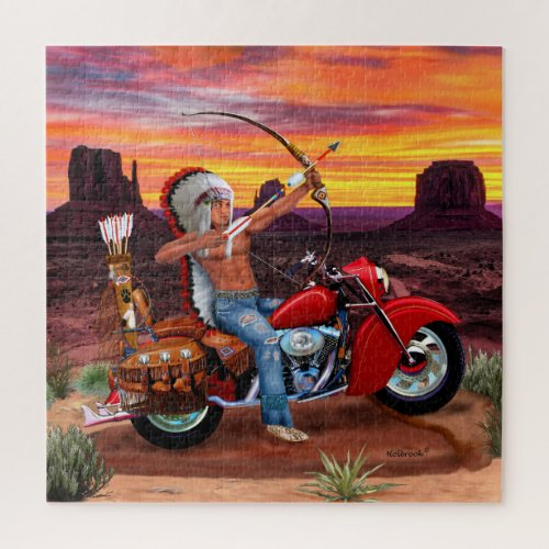 Indian Spirit Forever Jigsaw Puzzle