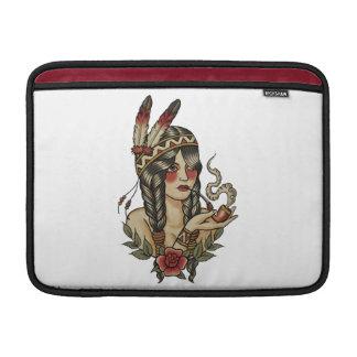 Indian squaw MacBook air sleeves