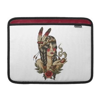 Indian squaw MacBook sleeve