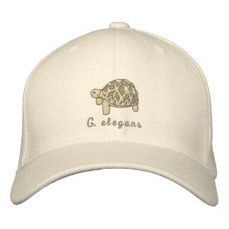 Indian Star Tortoise Embroidered Baseball Hat