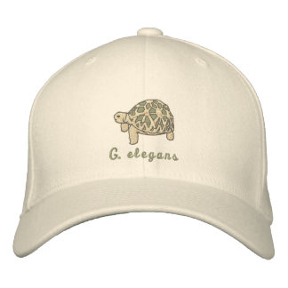Indian Star Tortoise Embroidered Hats
