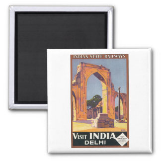 Indian State Railways Visit India Delhi Magnet