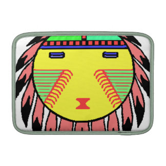 indian style graphic dream catcher MacBook sleeve