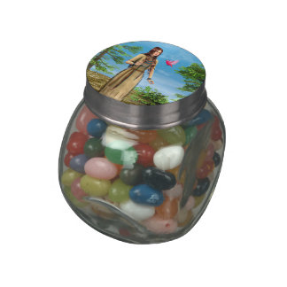 Indian Summer Jelly Belly Candy Jar