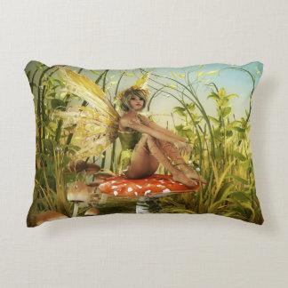 Indian Summer Fairy Accent Pillow