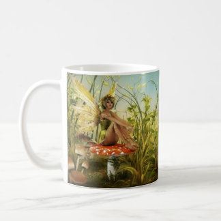 Indian Summer Fairy Basic White Mug
