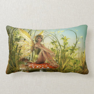 Indian Summer Fairy Lumbar Pillow
