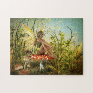 Indian Summer Fairy Puzzle