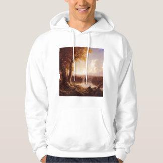 'Indian Summer' Hooded Sweatshirt