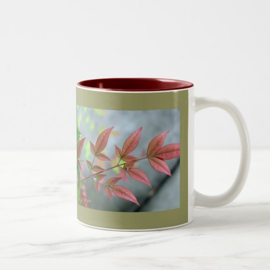 Indian Summer Morn Two-Tone Coffee Mug