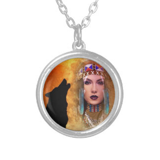 Indian Summer Silver Plated Necklace