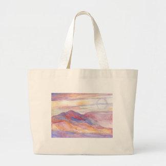 Indian Summer Sky Large Tote Bag