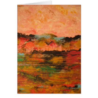 Indian Summer Stationery Note Card