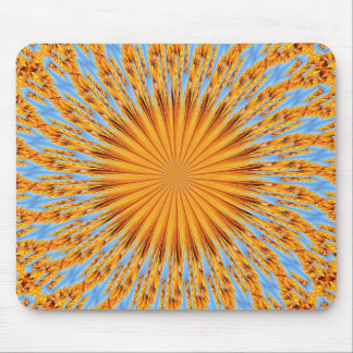 Indian summer warmth mouse pad