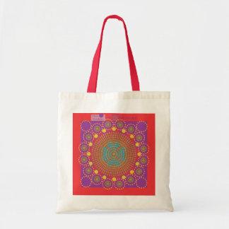 Indian Sun by the Heart Mandala Brand Bag