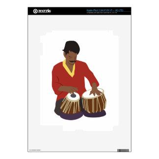 Indian Tabla Decal For iPad 3