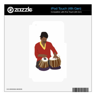 Indian Tabla Decal For iPod Touch 4G