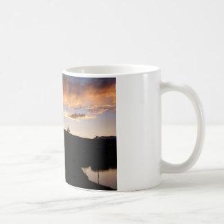 Indian Teepee Sunset  landscape Coffee Mug