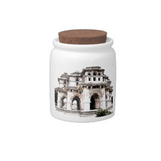 Indian Temple Candy Jar