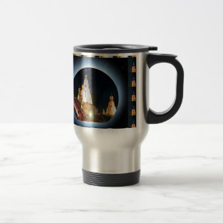 Indian Temple : Diwali Decorations 15 Oz Stainless Steel Travel Mug