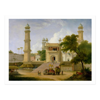 Indian Temple, said to be the Mosque of Abo-ul-Nab Postcard