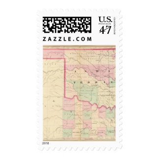 Indian Terr, Texas NW portion Postage
