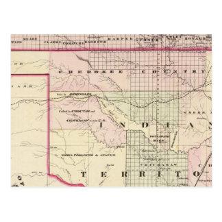 Indian Territory 2 Postcard