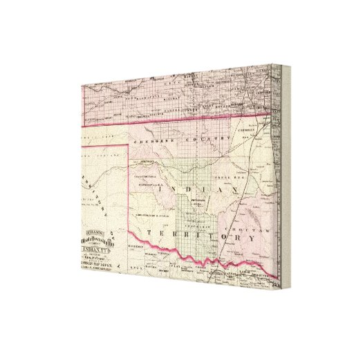 Indian Territory Gallery Wrap Canvas