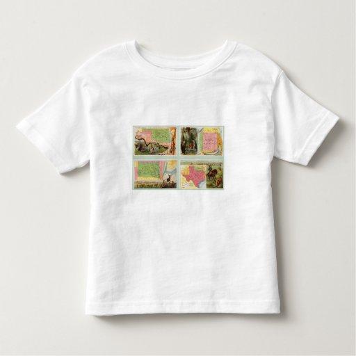 Indian Territory, New Mexico, South Dakota, Texas Toddler T-shirt