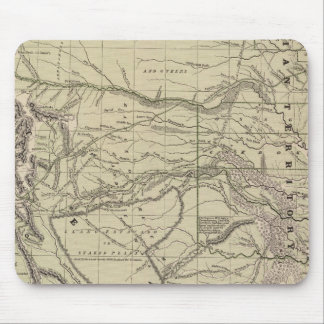 Indian Territory, North Texas, New Mexico Mouse Pad