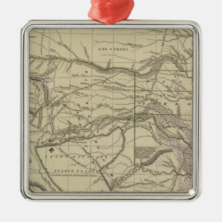 Indian Territory, North Texas, New Mexico Christmas Ornament