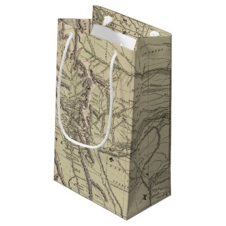 Indian Territory, North Texas, New Mexico Small Gift Bag