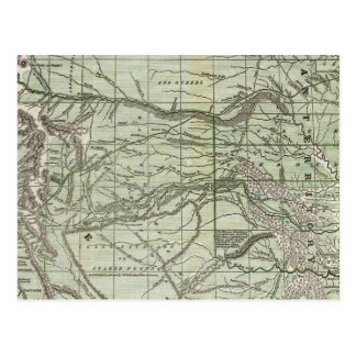 Indian Territory, Northern Texas and New Mexico Postcard