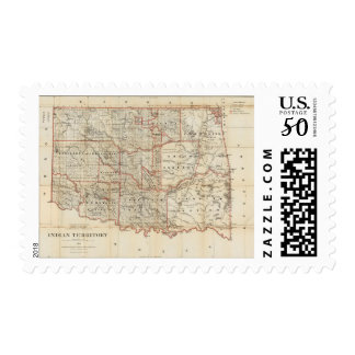 Indian Territory Postage