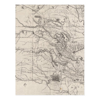 Indian Territory Postcard