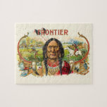 Indian Tobacco Label Jigsaw Puzzles