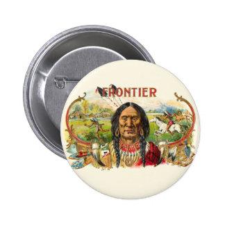 Indian Tobacco Label Pinback Button