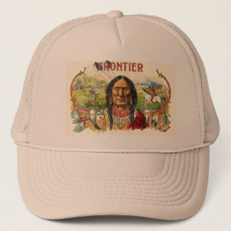 Indian Tobacco Label Trucker Hat