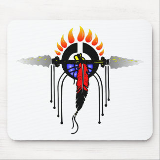 Indian Totem Mouse Pad