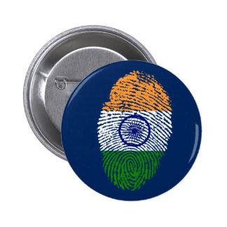 Indian touch fingerprint flag button