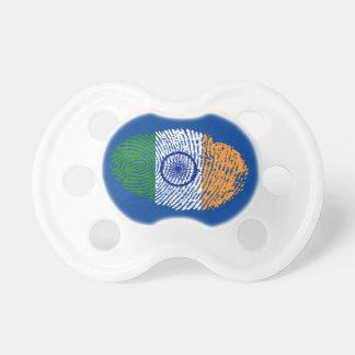 Indian touch fingerprint flag pacifier