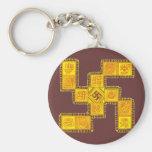 Indian Traditional Swastika Keychains