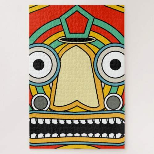 indian tribal jigsaw puzzle