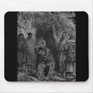 Indian Tribe Mouse Pad