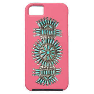Indian Turquoise and Silver Jewelry iPhone 5 Case