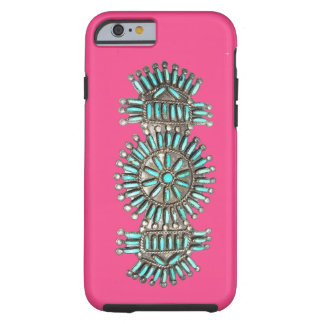 Indian Turquoise and Silver Jewelry iPhone 6 case